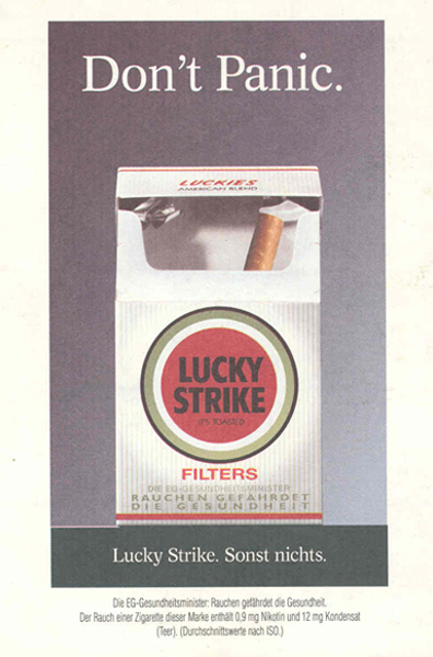 Packs of cigarettes Peter Stuyvesant sold