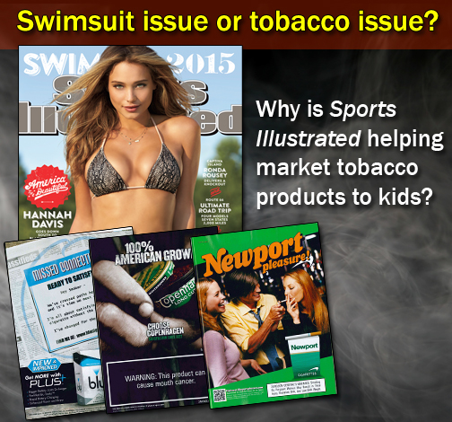 Now on Newsstands: Is it Sports Illustrated's Swimsuit or Tobacco ...