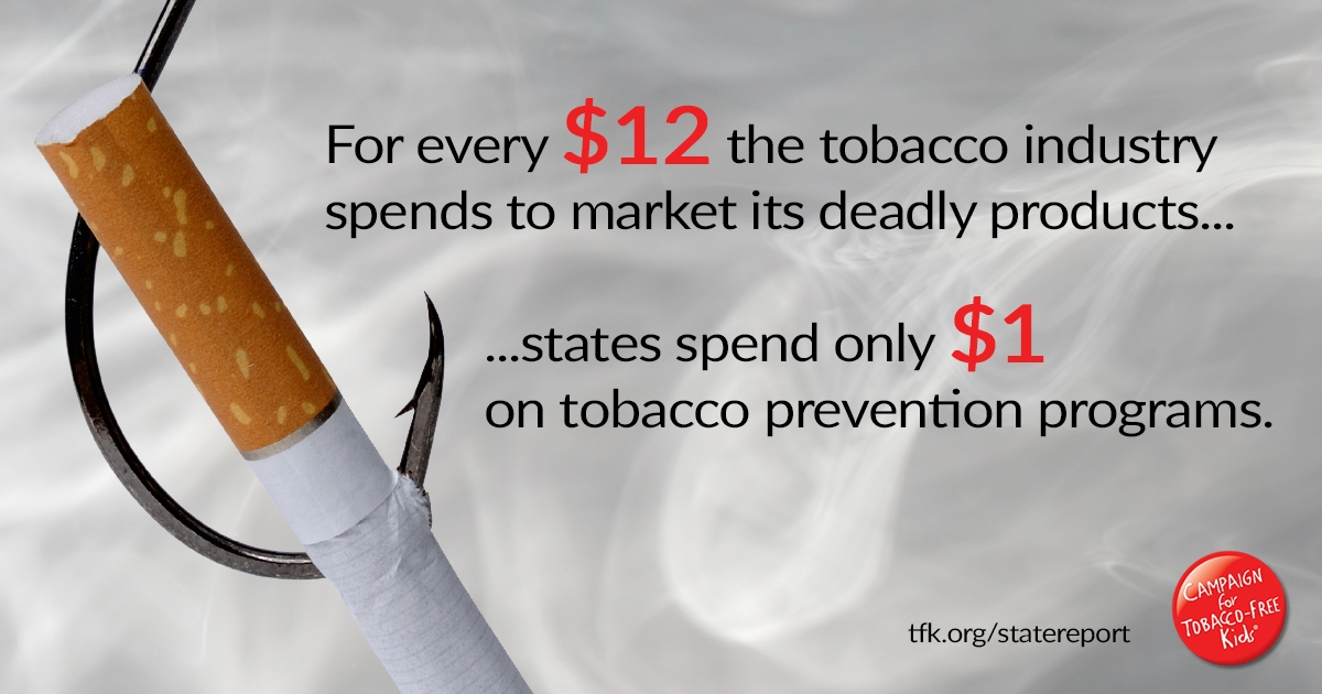State Tobacco Settlement Campaign For Tobacco Free Kids